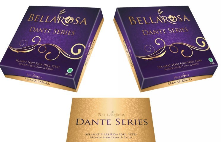 Paket Dante Kue Kering Bellarosa 2017