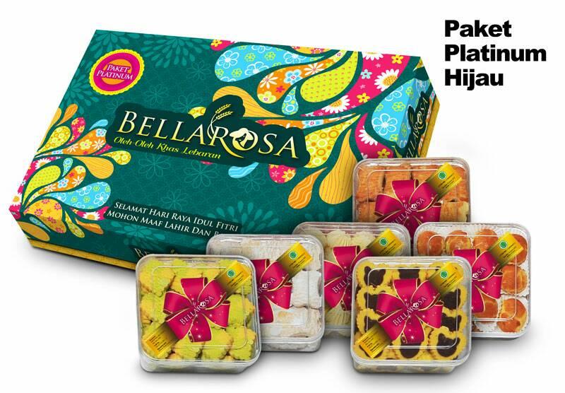 Paket Platinum Hijau Bellarosa 2017
