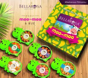 Paket Moo Moo 6 Kue Bellarosa 2019
